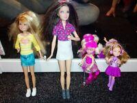 Mattel Barbie sisters genuine Stacey Chelsea Skipper dolls bundle