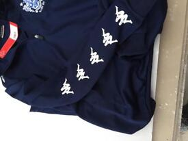Bury FC tracksuit top and bottoms