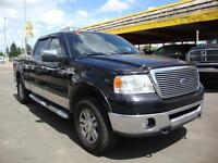 2008 Ford F-150 CrewCab, Leather, Sunroof, Short Bed 4WD