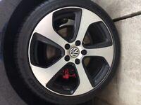 MK7 VW Golf GTI alloys