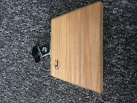Percussion wooden block with mount