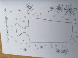 Designer Doodles book, shown with an example, lots of fun. Great condition, about 5% been used but m