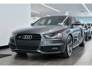 2016 Audi S4 3.0T Progressiv plus blk optics pkg push start nav