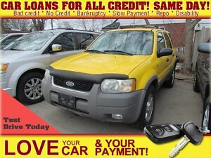 2001 Ford Escape XLT * AS IS * 4X4 * LEATHER