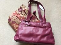 Leather Handbag Brand New With Tags