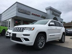 2017 Jeep Grand Cherokee SUMMIT,ALLOYS,HEMI,PREMIUM INTERIOR,PRE