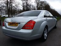2009 (09) Mercedes-Benz S Class 3.0 S320L CDI Limousine 7G-Tronic✔DVD VIDEO✔LONG MOT✔FULL S/H✔ C E