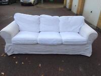 IKEA EKTORP Three-seat sofa free London delivery