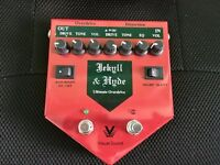 Visual Sound Jekyll & Hyde Ultimate Overdrive & Distortion Pedal