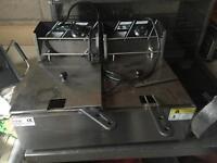 Twin fryer