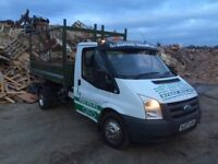 Scrap wood and forest products collection service