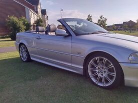 BMW 330CI M SPORT CONVERTIBLE MOT JUNE 18 LEATHER INTERIOR ELECTRIC ROOF GREAT CONDITION