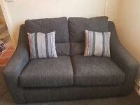 2 seater charcoal sofa