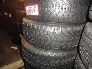 4 GOODYEAR HIVER USAGE 195 6OR15 A VENDRE