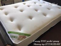 ✅ Mobile Mattresses Ni ~ luxurious 1000 pocket sprung & deep memory top ~ 5 stars on social med