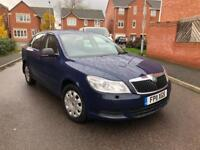 2011 SKODA OCTAVIA 1.6 TDI CR S MANUAL 5 DOOR HATCHBACK BLUE NEW SHAPE 12 MONTHS MOT £30 ROAD TAX