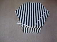 2 Hat Storage Boxes