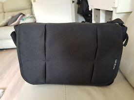Black baby change bag as new