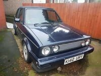 1993 K REG VW GOLF MK1 GOLF CONVERTIBLE, VERY RARE RIVAGE EDITION, NEEDS RESTORING. ASK FOR MORE PIC