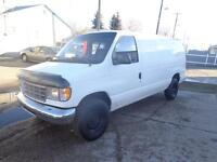 1996 Ford E-250 Cargo Van V8 Automatic Clean And Tidy $2950