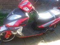 Lexmoto gladiator 125 cc scooter
