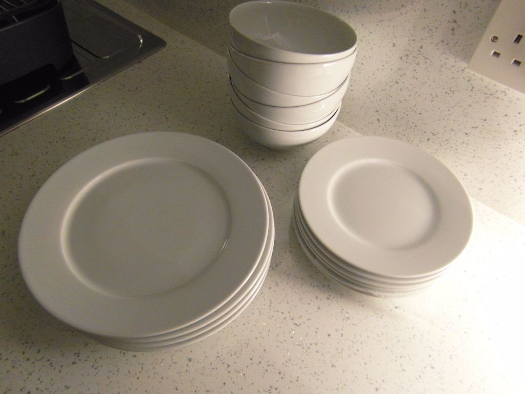 18 PIECE DINNER SET IKEA 365+ WHITE 13781 SUSAN PRYKE | in Swinton ...