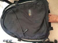 Back pack camera case
