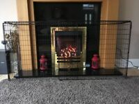 Kiddiproof Extendable Fire Guard