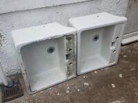 X2 Twyford sinks