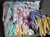 3-6m baby girls clothes (22 items)