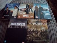 5 dvd box sets in excellent condition