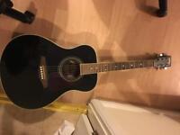 Vintage brand acoustic guitar