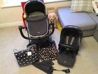Mamas & Papas Sola2 MTX Travel system Pram Buggy