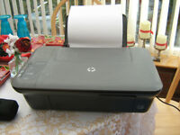 HP deskjet 1050A printer/scanner