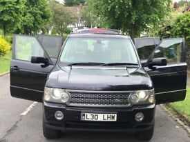 RANGE ROVER VOUGE 4.2 V8 SUPER CHARGED AUTOMATIC PETROL 5 DOOR+HPI CLEAN +FULL SERVICE HISTORY