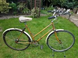 Retro hercules reynolds 531 frame bicycle