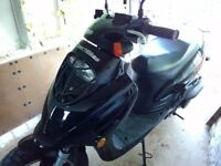 Direct Bikes 125cc Sports Scooter – Model: ZN125T-26 - only 1600 miles from new - swap