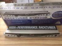 Behringer BTR2000 Rackmount Tuner / Metronome / Rack light