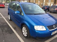 Vw touran 2.0 tdi 2004 7seats