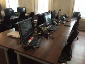 Desks Wallnut 6 Avail