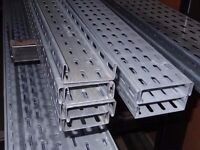 Cable Tray Galvanized, brand New Job lot various widths.