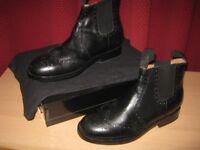 Samuel Windsor Black Boots- Size 9- Never Worn!!