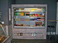 Commercial Display Fridge Chiller Cabinet Drinks - For Spares or Repair