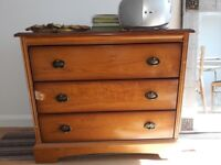 Mid Century Modern Chest of Drawers - 3 Drawers