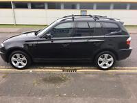 Black BMW X3 Sport 2.0 Diesel 2005 (55)