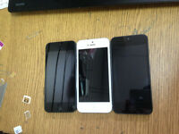 iphone5 16G EE network- 02 GiffGaff, Vodafone, white/ silver or black/ slate very good condition