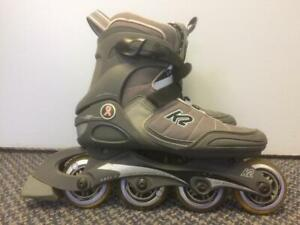 K2 Matrix 2.0 Inline Skates (Rollerblades) 76mm/80A ABEC-5 Womens Size 8