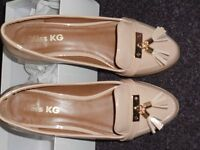 Ladies Nude loafers