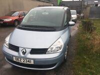 Renault espace (bmw, clio, audi)