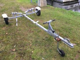 Galvanised Road trailer